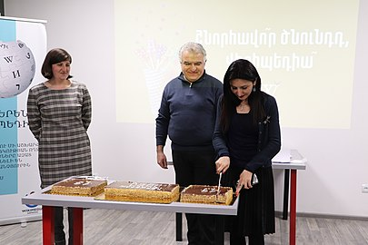 Wikipedia day 2020 in the Wikimedia Armenia office (10).jpg