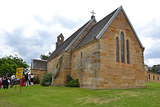 St Johns Anglican Church and Macquarie Schoolhouse Church in New South Wales, Australia