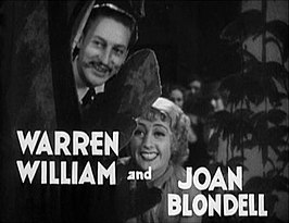 Warren William en Joan Blondell in Gold Diggers of 1933