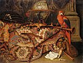 Willem Gabron - Still Life with Turkish Carpet and a Parrot.jpg