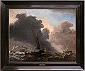 Willem van de velde il giovane, una chiatta e altre imbarcazioni in un vento rinfrescante.jpg
