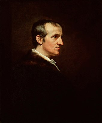 "William Godwin, was ""the first to formulate the political and economical conceptions of anarchism, even though he did not give that name to the ideas developed in his work"" according to Kropotkin. WilliamGodwin.jpg"