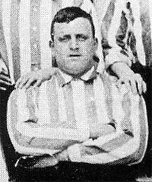 "1902 FA Cup Final - Sheffield United goalkeeper William ""Fatty"" Foulke"