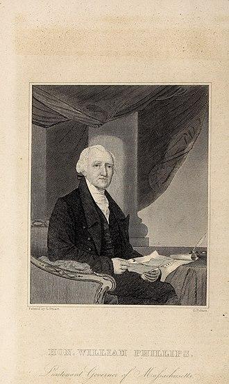 William Phillips Jr. - Image: William Phillips Jr. from American quarterly register (1841)