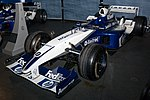 Williams FW25 front-left 2017 Williams Conference Centre.jpg