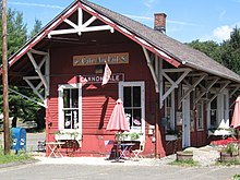 Cannondale Railroad Station