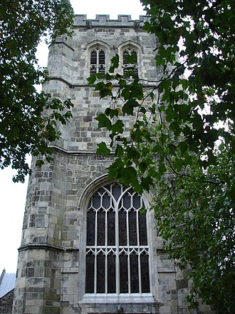 Wimborne Minster (church) - The West Tower