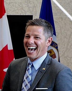 Brian Bowman (politician) - Bowman in 2017