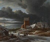 Winterlandschap Rijksmuseum SK-A-349.jpeg