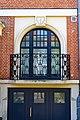 Woluwe-Saint-Lambert - Region Bruxelloise - Fenstertür mit Eisengitteritter - P1010378.jpg