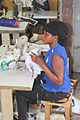 Woman behind the sewing machine in the Gambia.jpg