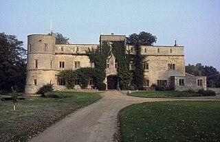 Woodcroft Castle medieval castle in the parish of Etton, Cambridgeshire, England