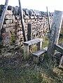 Wooden stile at Killhope Cross - geograph.org.uk - 1123803.jpg