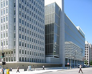 The World Bank headquarters in Washington DC