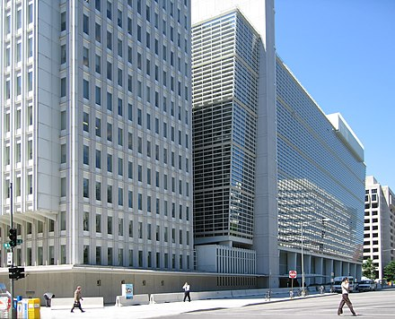The World Bank headquarters in Washington, D.C. World Bank building at Washington.jpg