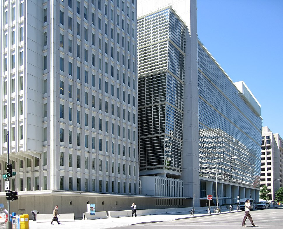 World Bank building at Washington