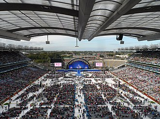 Pope Francis's visit to Ireland - Concert at Croke Park