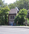 Worringen Transformatorenhäuschen Denkmal Nr 4624.jpg