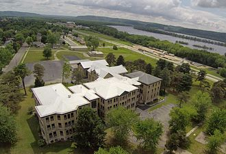 Prairie du Chien, Wisconsin - Wyalusing Academy, the former St Mary's College and Saint Mary's School
