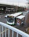 X30 bus, Malpas Road, Crindau, Newport (geograph 5989625).jpg
