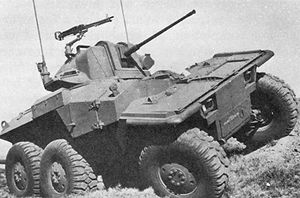 XM800 Armored Reconnaissance Scout Vehicle - XM800W with the new turret design