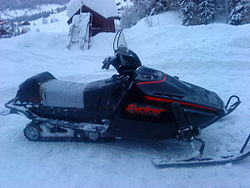 Yamaha Vmax Snowmobile Engine