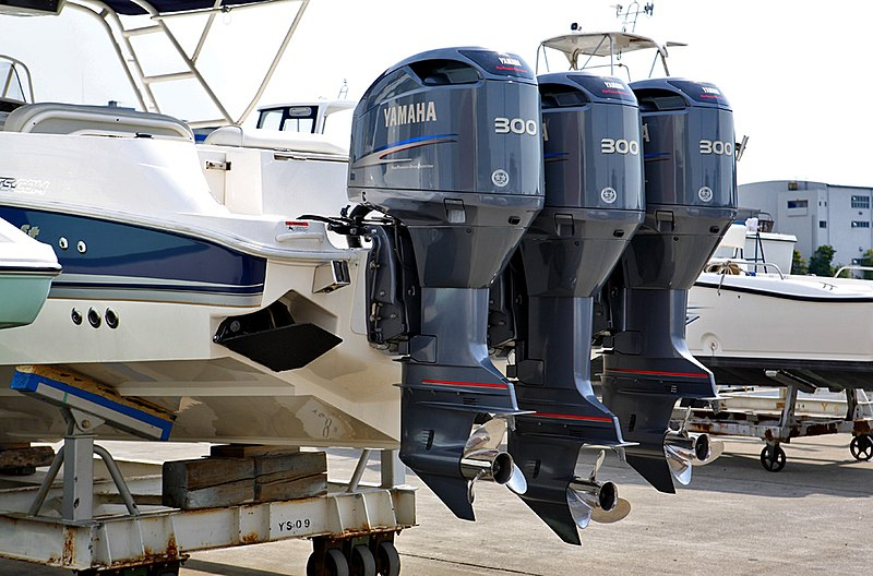 File yamaha outboard motors 001 jpg wikimedia commons for Outboard motor repair training online