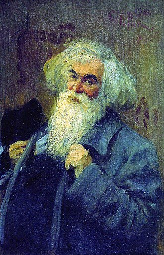 Ieronim Yasinsky - Portrait by Ilya Repin, 1910
