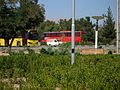 Yellow Bus for an Organization - Road 44 east of Iran - near Simorgh Culture house - Nishapur 3.JPG
