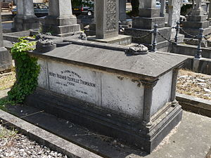 Yeoville Thomason - Monument, Kensal Green Cemetery