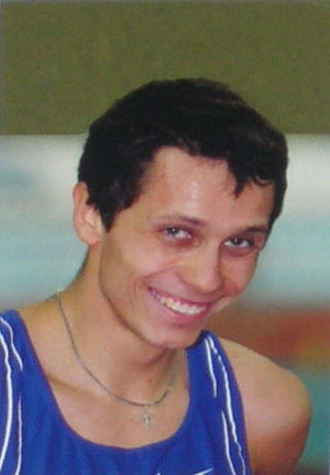 1999 European Athletics Junior Championships - Yuriy Borzakovskiy won the 800 metres gold.