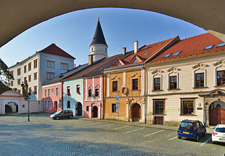 Přerov Town in Czech Republic
