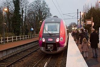 Gare de Luzarches - Image: Z50000 12dec 2009 IMG 5976