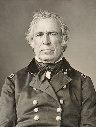 Zachary Taylor - Daguerreotype of Zachary Taylor, c. 1843-45