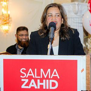 Salma Zahid - Image: Zahid headshot