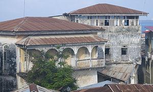 Tippu Tip - Home of Tippu Tip in Stone Town, Zanzibar.