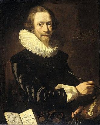 Abraham de Vries (painter) - Self-portrait, 1621