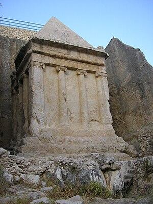 Zechariah ben Jehoiada - Tomb of Zechariah