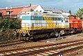 Zwei Lokomotiven der Karsdorfer Eisenbahngesellschaft (Radeberg, 1998).jpg