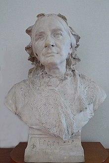 Friedrich Christoph Hausmann: Clara Schumann (1896) (Quelle: Wikimedia)