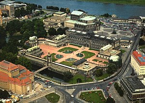State Palaces, Castles and Gardens of Saxony - Image: Zwingerluft