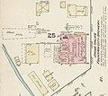 """Jacob Halm's Fountain City Brewery"" in March 1884, Sanborn Fire Insurance Map from Bryan, Williams County, Ohio. LOC sanborn06617 001-1 (cropped).jpg"