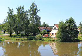 Černovice (DO), pond.jpg