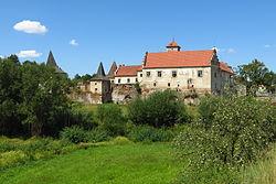 Červená Řečice, renesančně-barokní zámek poblíž Pelhřimova.JPG