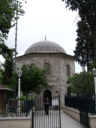 Gülbahar Hatun (wife of Mehmed II) - Gülbahar's mausoleum at the Fatih Mosque, Istanbul.