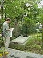 Łódź, grób Wiery Dzierżynskiej-Fiałkowskiej VI 2007 2.jpg