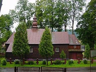 Łodyna - Formerly Greek Catholic, currently Roman Catholic church