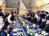 Παρουσία του Υπουργού Εξωτερικών Ν. Κοτζιά στην Αγία και Μεγάλη Σύνοδο της Ορθόδοξης Εκκλησίας, Κρήτη, 16-27-6-2016 (27614224782).jpg