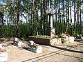 Местность Ферменка и долина реки Каменки Военное Мемориальное кладбище Дом лесника.JPG
