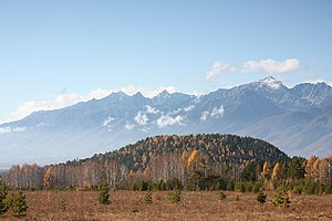 Tunkinsky National Park - Image: Потухший вулкан Тальская вершина
